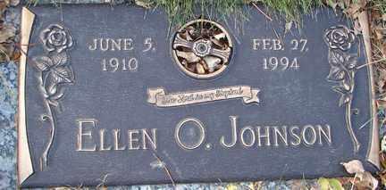 JOHNSON, ELLEN O. - Minnehaha County, South Dakota | ELLEN O. JOHNSON - South Dakota Gravestone Photos