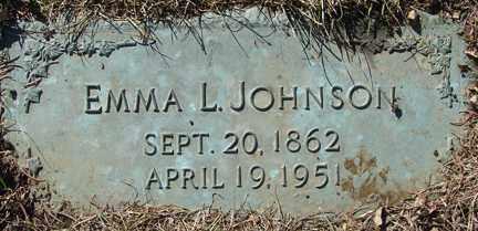 JOHNSON, EMMA L. - Minnehaha County, South Dakota | EMMA L. JOHNSON - South Dakota Gravestone Photos
