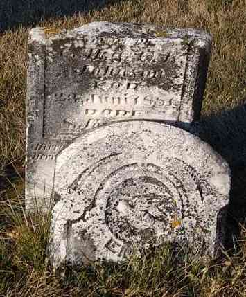 JOHNSON, EMMA ELSIE - Minnehaha County, South Dakota   EMMA ELSIE JOHNSON - South Dakota Gravestone Photos