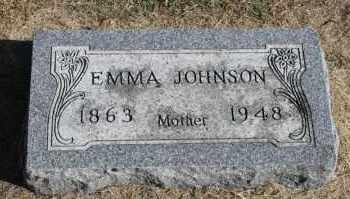 JOHNSON, EMMA - Minnehaha County, South Dakota | EMMA JOHNSON - South Dakota Gravestone Photos