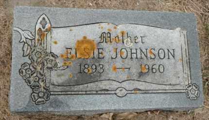 JOHNSON, ELSIE - Minnehaha County, South Dakota | ELSIE JOHNSON - South Dakota Gravestone Photos