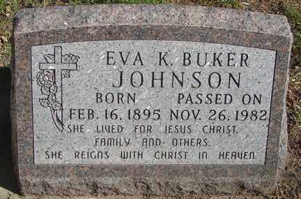 JOHNSON, EVA K. - Minnehaha County, South Dakota | EVA K. JOHNSON - South Dakota Gravestone Photos