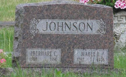 JOHNSON, MABEL - Minnehaha County, South Dakota | MABEL JOHNSON - South Dakota Gravestone Photos