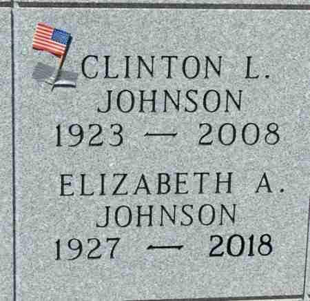 JOHNSON, ELIZABETH ANN - Minnehaha County, South Dakota | ELIZABETH ANN JOHNSON - South Dakota Gravestone Photos