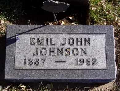 JOHNSON, EMIL JOHN - Minnehaha County, South Dakota | EMIL JOHN JOHNSON - South Dakota Gravestone Photos