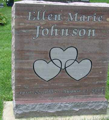 JOHNSON, ELLEN MARIE - Minnehaha County, South Dakota | ELLEN MARIE JOHNSON - South Dakota Gravestone Photos
