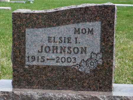 JOHNSON, ELSIE I. - Minnehaha County, South Dakota | ELSIE I. JOHNSON - South Dakota Gravestone Photos