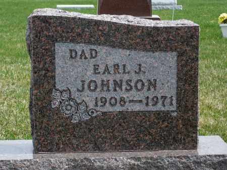 JOHNSON, EARL J. - Minnehaha County, South Dakota | EARL J. JOHNSON - South Dakota Gravestone Photos