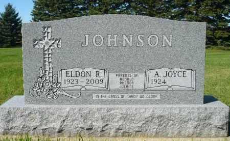JOHNSON, ELDON R. - Minnehaha County, South Dakota   ELDON R. JOHNSON - South Dakota Gravestone Photos