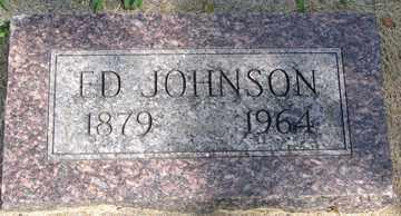 JOHNSON, ED - Minnehaha County, South Dakota | ED JOHNSON - South Dakota Gravestone Photos