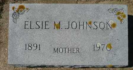 JOHNSON, ELSIE M. - Minnehaha County, South Dakota | ELSIE M. JOHNSON - South Dakota Gravestone Photos
