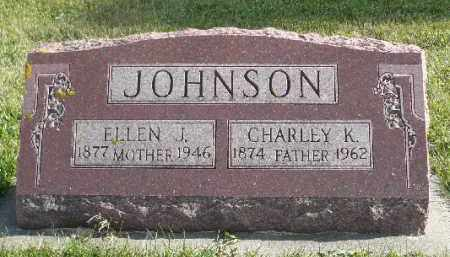 JOHNSON, ELLEN J. - Minnehaha County, South Dakota | ELLEN J. JOHNSON - South Dakota Gravestone Photos