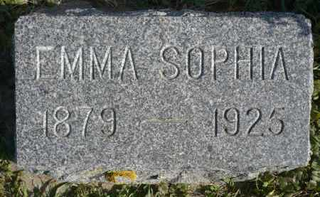 JOHNSON, EMMA SOPHIA - Minnehaha County, South Dakota | EMMA SOPHIA JOHNSON - South Dakota Gravestone Photos