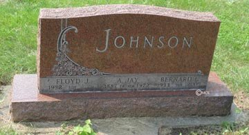 JOHNSON, BERNARD LLOYD - Minnehaha County, South Dakota | BERNARD LLOYD JOHNSON - South Dakota Gravestone Photos