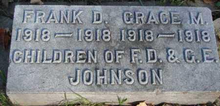 JOHNSON, GRACE  M. - Minnehaha County, South Dakota | GRACE  M. JOHNSON - South Dakota Gravestone Photos