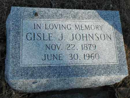 JOHNSON, GISLE J. - Minnehaha County, South Dakota | GISLE J. JOHNSON - South Dakota Gravestone Photos