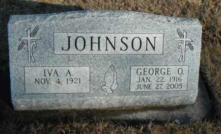 JOHNSON, IVA A. - Minnehaha County, South Dakota | IVA A. JOHNSON - South Dakota Gravestone Photos