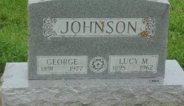JOHNSON, GEORGE - Minnehaha County, South Dakota | GEORGE JOHNSON - South Dakota Gravestone Photos