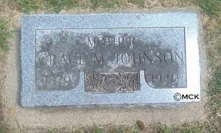 JOHNSON, GRACE M. - Minnehaha County, South Dakota | GRACE M. JOHNSON - South Dakota Gravestone Photos