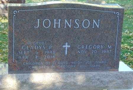 JOHNSON, GLADYS P. - Minnehaha County, South Dakota | GLADYS P. JOHNSON - South Dakota Gravestone Photos