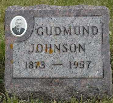 JOHNSON, GUDMUND - Minnehaha County, South Dakota   GUDMUND JOHNSON - South Dakota Gravestone Photos