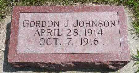 JOHNSON, GORDON J. - Minnehaha County, South Dakota   GORDON J. JOHNSON - South Dakota Gravestone Photos