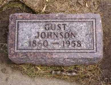 JOHNSON, GUST - Minnehaha County, South Dakota | GUST JOHNSON - South Dakota Gravestone Photos
