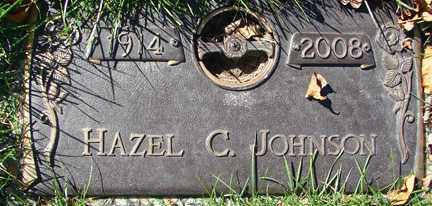 JOHNSON, HAZEL C. - Minnehaha County, South Dakota | HAZEL C. JOHNSON - South Dakota Gravestone Photos