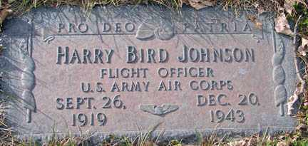 JOHNSON, HARRY BIRD - Minnehaha County, South Dakota | HARRY BIRD JOHNSON - South Dakota Gravestone Photos