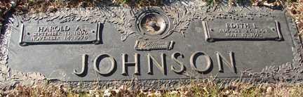 JOHNSON, HAROLD A. - Minnehaha County, South Dakota | HAROLD A. JOHNSON - South Dakota Gravestone Photos