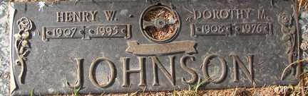 JOHNSON, HENRY W. - Minnehaha County, South Dakota | HENRY W. JOHNSON - South Dakota Gravestone Photos