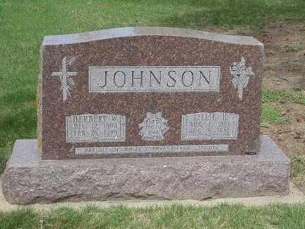 JOHNSON, LILLIE - Minnehaha County, South Dakota | LILLIE JOHNSON - South Dakota Gravestone Photos