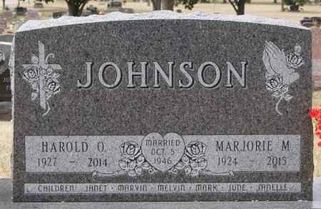 JOHNSON, MARJORIE M - Minnehaha County, South Dakota | MARJORIE M JOHNSON - South Dakota Gravestone Photos