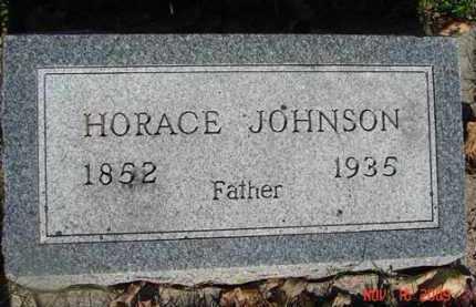 JOHNSON, HORACE - Minnehaha County, South Dakota | HORACE JOHNSON - South Dakota Gravestone Photos