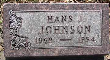 JOHNSON, HANS J. - Minnehaha County, South Dakota | HANS J. JOHNSON - South Dakota Gravestone Photos