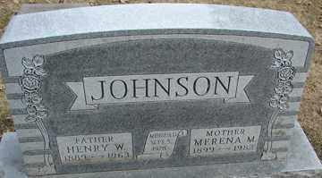 JOHNSON, MERENA M. - Minnehaha County, South Dakota | MERENA M. JOHNSON - South Dakota Gravestone Photos