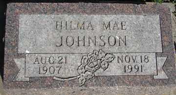 JOHNSON, HILMA MAE - Minnehaha County, South Dakota   HILMA MAE JOHNSON - South Dakota Gravestone Photos