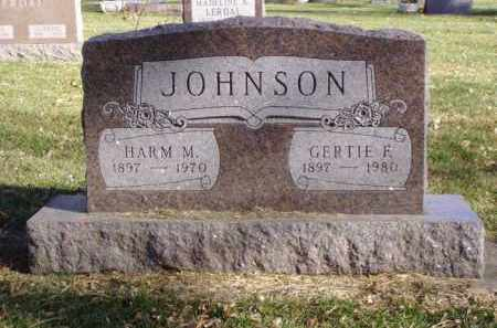 JOHNSON, HARM M. - Minnehaha County, South Dakota | HARM M. JOHNSON - South Dakota Gravestone Photos