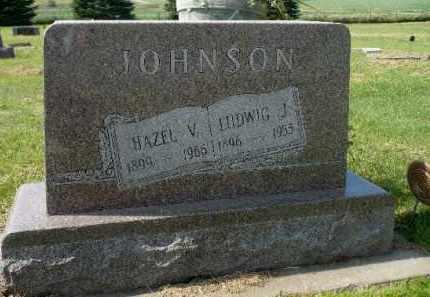 JOHNSON, HAZEL V. - Minnehaha County, South Dakota   HAZEL V. JOHNSON - South Dakota Gravestone Photos