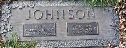 JOHNSON, HARRY - Minnehaha County, South Dakota | HARRY JOHNSON - South Dakota Gravestone Photos