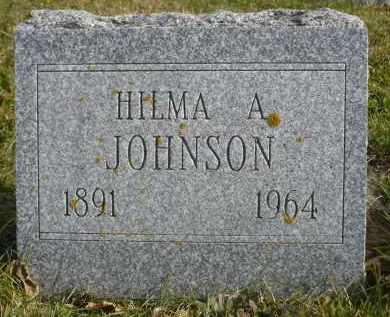 JOHNSON, HILMA A. - Minnehaha County, South Dakota   HILMA A. JOHNSON - South Dakota Gravestone Photos