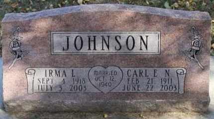 JOHNSON, IRMA L. - Minnehaha County, South Dakota | IRMA L. JOHNSON - South Dakota Gravestone Photos