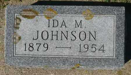 JOHNSON, IDA M. - Minnehaha County, South Dakota   IDA M. JOHNSON - South Dakota Gravestone Photos