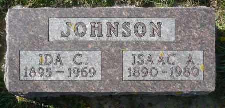 JOHNSON, ISAAC A. - Minnehaha County, South Dakota | ISAAC A. JOHNSON - South Dakota Gravestone Photos