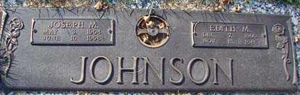 JOHNSON, JOSEPH M. - Minnehaha County, South Dakota   JOSEPH M. JOHNSON - South Dakota Gravestone Photos