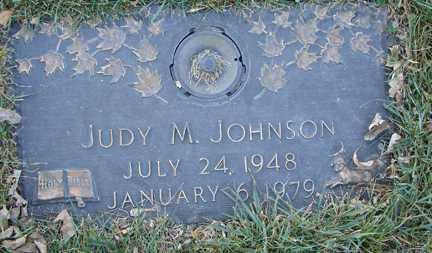 JOHNSON, JUDY M. - Minnehaha County, South Dakota   JUDY M. JOHNSON - South Dakota Gravestone Photos