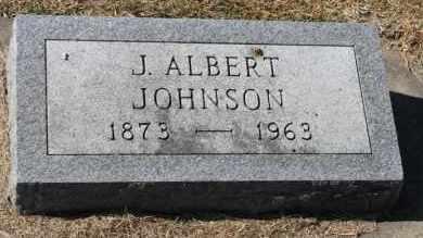 JOHNSON, J. ALBERT - Minnehaha County, South Dakota   J. ALBERT JOHNSON - South Dakota Gravestone Photos