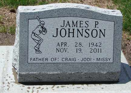 JOHNSON, JAMES P. - Minnehaha County, South Dakota   JAMES P. JOHNSON - South Dakota Gravestone Photos