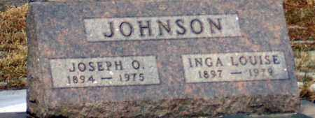 JOHNSON, JOSEPH O. - Minnehaha County, South Dakota | JOSEPH O. JOHNSON - South Dakota Gravestone Photos