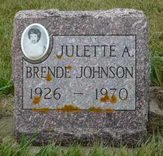 JOHNSON, JULETTE A. - Minnehaha County, South Dakota | JULETTE A. JOHNSON - South Dakota Gravestone Photos